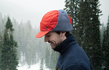 man wearing the sunday afternoons charter cold front hat